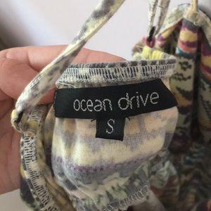 Ocean Drive Tops - Tribal print tank